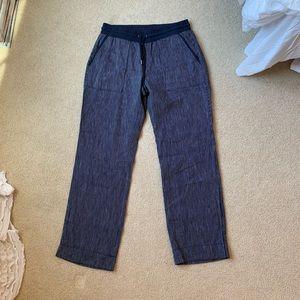 Athleta navy pants